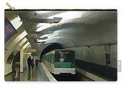 Paris Subway  Carry-all Pouch
