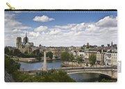 Paris View Notre Dame Carry-all Pouch