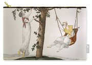 Parisian Ladies At Montmorency, Plate Carry-all Pouch