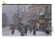 Parisian Street Scene Carry-all Pouch