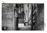 Park Alley Sunset Carry-all Pouch by Bob Orsillo