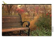 Park Bench In Autumn Carry-all Pouch
