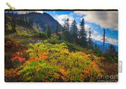 Park Butte Fall Color Carry-all Pouch