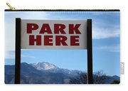 Park Here Carry-all Pouch
