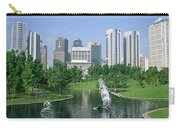Park In The City, Petronas Twin Towers Carry-all Pouch