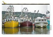 Parked Fishing Boats Carry-all Pouch