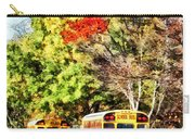 Parked School Buses Carry-all Pouch