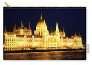 Parliament Building At Night In Budapest Carry-all Pouch
