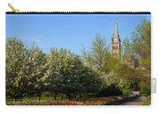 Parliament Building Seen From A Garden Carry-all Pouch