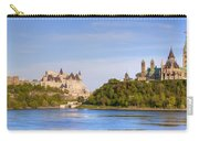 Parliament Buildings And The Fairmont Carry-all Pouch