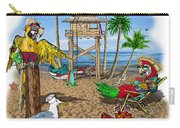 Parrot Beach Party Carry-all Pouch