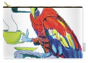 Parrot Cartoon Carry-all Pouch