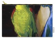 Parrot Carry-all Pouch by George Wesley Bellows