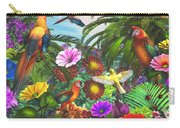 Parrot Jungle Carry-all Pouch