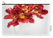 Parrot Tulips In A Milk Jug Carry-all Pouch