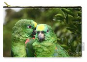 Parrot Whispers Carry-all Pouch
