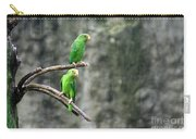 Parrots In The Rain Carry-all Pouch