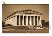 Parthenon In Sepia 3 Carry-all Pouch