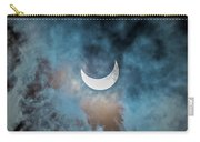 Partial Solar Eclipse In Cloud 1 Oct Carry-all Pouch