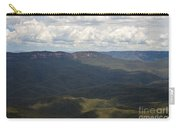 Partly Cloudy Day In The Blue Mountains Carry-all Pouch