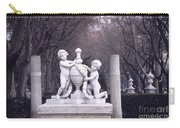 Paseo Del Prado In Winter Madrid Carry-all Pouch