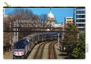 Passenger Metro Train With Us Capitol Carry-all Pouch