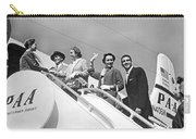 Passengers Board Panam Clipper Carry-all Pouch by Underwood Archives
