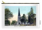 Passiac New Jersey - Norht Reformed Church - 1910 Carry-all Pouch