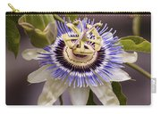 Passiflora Caerulea Carry-all Pouch