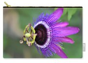 Passiflora Lavender Lady Carry-all Pouch