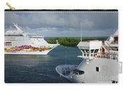 Passing Cruise Ships Carry-all Pouch