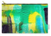 Passing Time Acrylic Mind Image  Carry-all Pouch by Sir Josef - Social Critic -  Maha Art