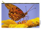 Passion Butterfly On The Mexican Sunflower Carry-all Pouch