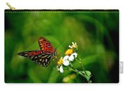 Passion Butterfly Painted Carry-all Pouch