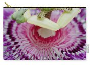 Passion Flower In Bloom Carry-all Pouch