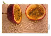 Passion Fruit On Fish Plate 11-3-13 Carry-all Pouch