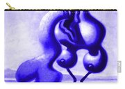 Passion In Blue Carry-all Pouch