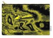 Passion In Grainy Gold Carry-all Pouch