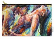 Passion - Palette Knife Figures Of Lovers Oil Painting On Canvas By Leonid Afremov Carry-all Pouch