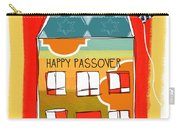 Passover House Carry-all Pouch by Linda Woods