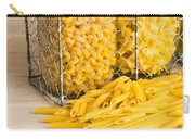 Pasta Shapes Still Life Carry-all Pouch by Edward Fielding