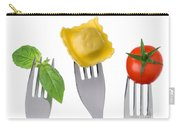 Pasta Tomato And Basil Carry-all Pouch