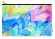 Pastel Abstract Patterns V Carry-all Pouch