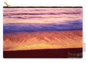 Pastel - Abstract Waves Rolling In During Sunset. Carry-all Pouch