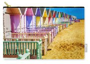Pastel Beach Huts 2 Carry-all Pouch