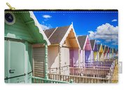 Pastel Beach Huts 3 Carry-all Pouch
