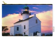Pastel Drawing Old Point Loma Lighthouse Cabrillo National Monument California Carry-all Pouch