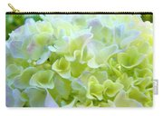 Pastel Floral Hydrangea Flowers Art Baslee Troutman Carry-all Pouch