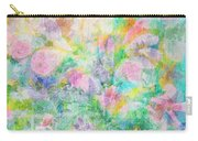 Pastel Flowers By Jan Marvin Carry-all Pouch