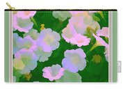 Pastel Flowers II Carry-all Pouch by Tom Prendergast